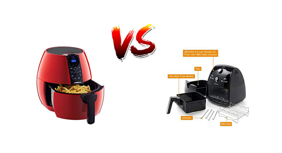 gowise usa vs secura airfryer