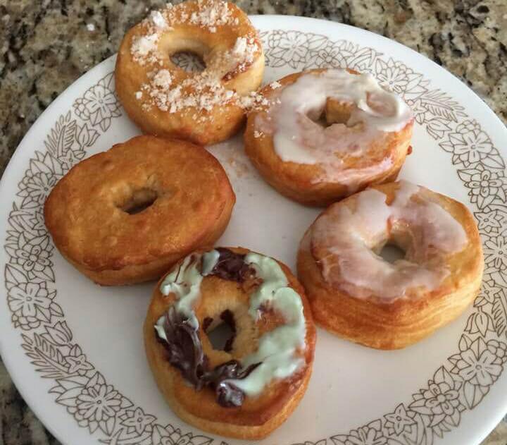 Homemade Air Fried Donuts Recipe